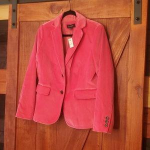 NWT Talbots hot pink blazer